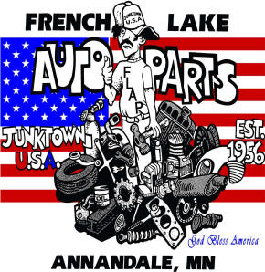 French Lake Auto Parts Logo